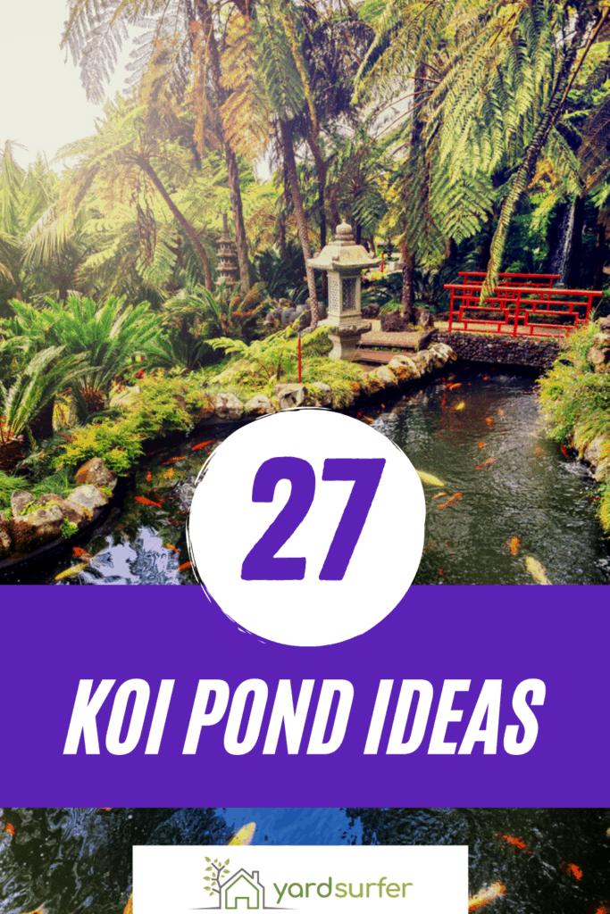 koi pond ideas