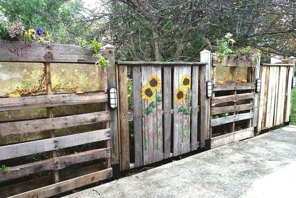 wood fence ideas