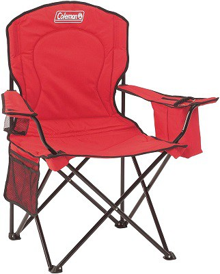 Coleman Cooler Quad Camping Chair