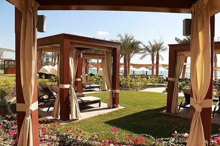 Elegant Wooden Cabanas