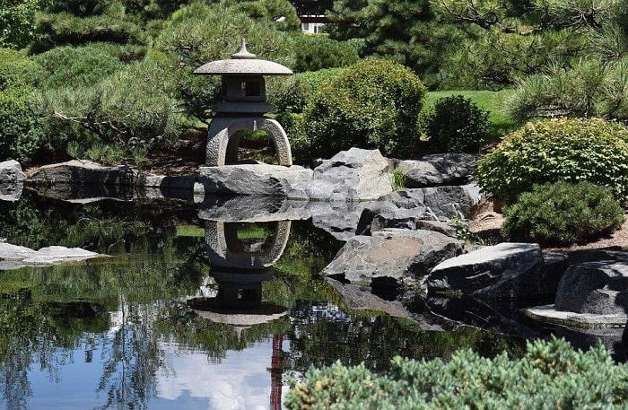 Japanese Style Water Garden