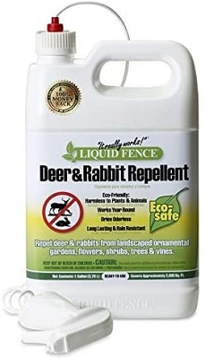 Liquid Fence 109 Ready-to-Use 1 Gallon Deer and Rabbit Repellent