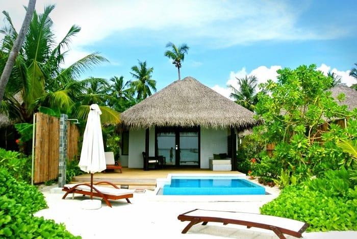 Mini Poolside House