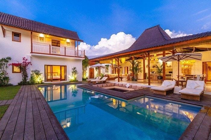 Poolside Living Room Cabana