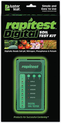 Luster Leaf Rapitest 1605 Digital Soil Test Kit