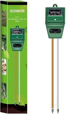Sonkir Soil pH Meter