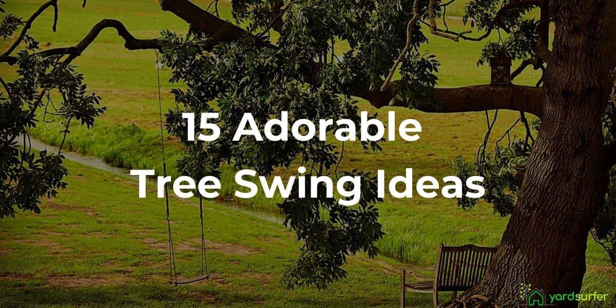 tree swing ideas