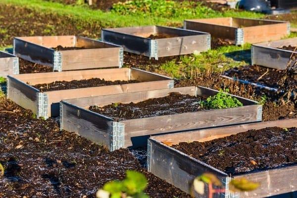 DIY Pallet Garden Beds