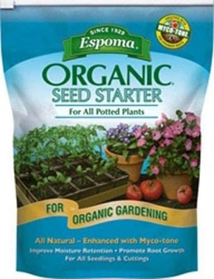 Espoma SS16 Organic Seed Starter Premium Potting Mix